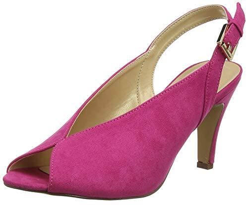 Lotus Damen Akiko Slingback Pumps, Pink (Fuchsia Dk), 41 EU