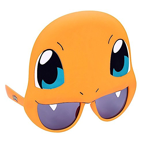 Sun-Staches Costume Sunglasses Pokemon Charmander Party Favors UV400
