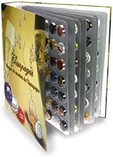 SAFE-ID - Articles de collectionneurs - iD-Safe Album Champagne avec 6 feuilles pour 252 Capsules de Champagne 7880SP
