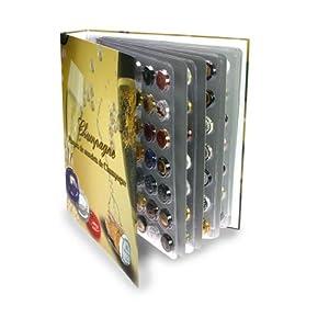 SAFE-ID – Articoli da collezionisti – iD-Safe Album Champagne con 6 fogli per 252 capsule di champagne 7880SP