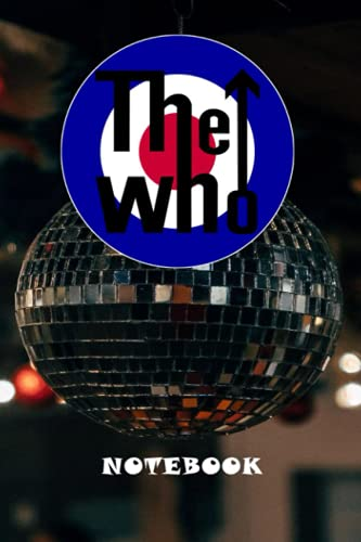 The Who Rock Band Notebook: for Professionals and Students, Teachers and Writers Christmas , Thankgiving #18