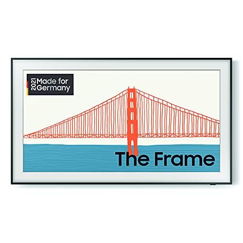 Samsung The Frame QLED 4K TV 43 Zoll (GQ43LS03AAUXZG), Quantum HDR, Design im Rahmen-Look, Austauschbare Rahmen [2021]