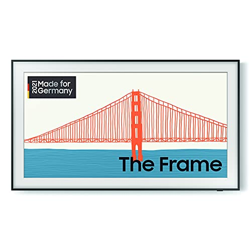 Samsung The Frame QLED 4K TV 65' (GQ65LS03AAUXZG), Quantum HDR, Design im Rahmen-Look, Austauschbare Rahmen [2021]