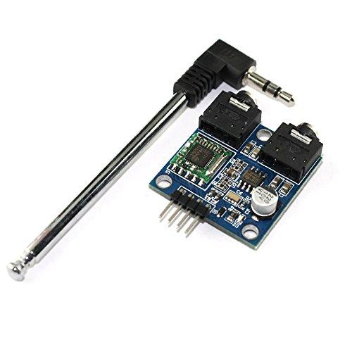 TEA5767 FM-stereo radio voor 76-108 MHz, met antennekabel