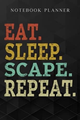Notebook Planner Eat Sleep Scape Repeaart - 2007 Buying GF meme MMORPG:...