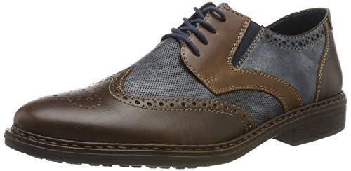 Rieker 17621-25, Zapatos Cordones Brogue
