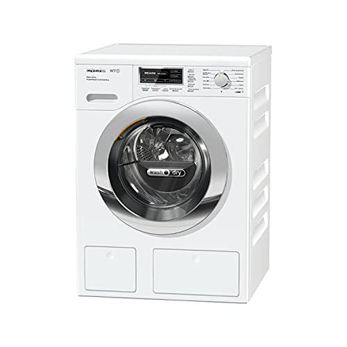 Lavasecadora modelo WTH120 WPM PWash DRY 2,0 & Tdos con TwinDos y QuickPower, 7Kg carga lavadora, 4Kg carga secadora, color blanco, 63,7 x 59,6 x 85 centímetros (referencia: Miele 11TH1204E)