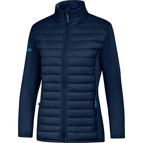 JAKO Damen Sonstige Jacke Hybridjacke Premium, marine, 36, 7004