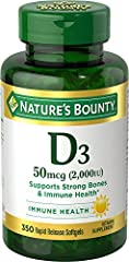 Nature's Bounty,Super Strength D3 - 2000iu vitamin d 2000 iu vitamin d Nature's Bounty