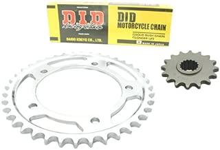 D.I.D Standard (HD) Chain and Sprocket Set for Honda CBR 125 R2004-2010 (JC34/JC39)