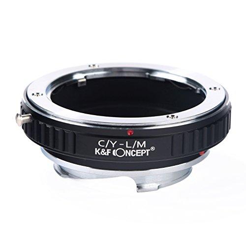 K&F Concept レンズマウントアダプター KF-CYM (ヤシカ・コンタックスマウントレンズ → ライカMマウント変換)