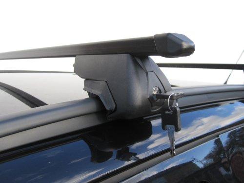 Barras de techo para carga sólida para Opel Zafira (modelos de 2007 en adelante). No compatibles con el modelo Tourer