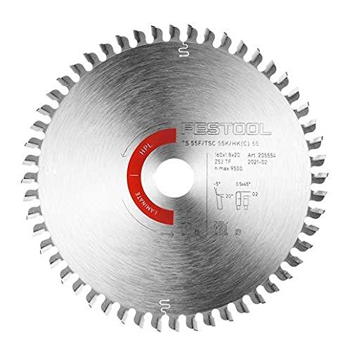 Festool 205554 HW 160x1,8x20 TF52 Hoja de sierra especial