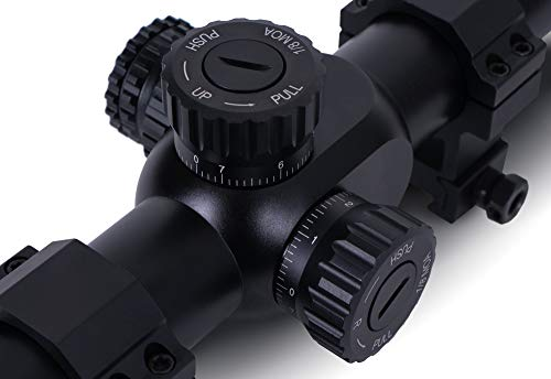 Monstrum G3 8-32x56 First Focal Plane FFP Rifle Scope with Illuminated MOA Reticle and Parallax Adjustment