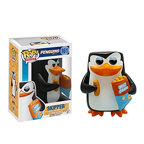 Lotoy Funko Pop Movie : Penguins of Madagascar - Skipper 3.75inch Vinyl Gift for Cartoon Fans Model