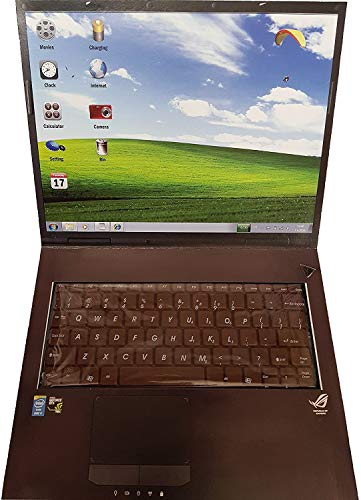 2 x Laptop Notebook aus Schokolade mit Tastatur (2er Sparpack 2 x 200g)