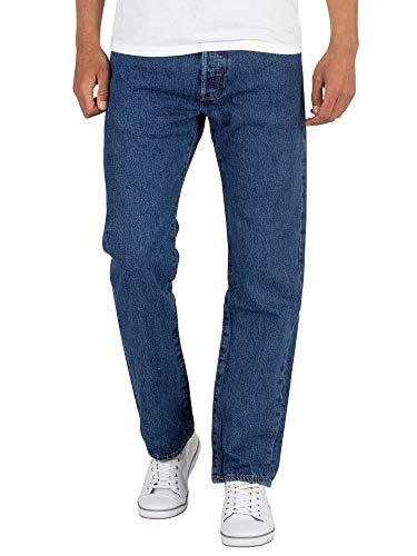 Levi's Herren Straight Leg Jeans Gr. 40W x 32L, blau