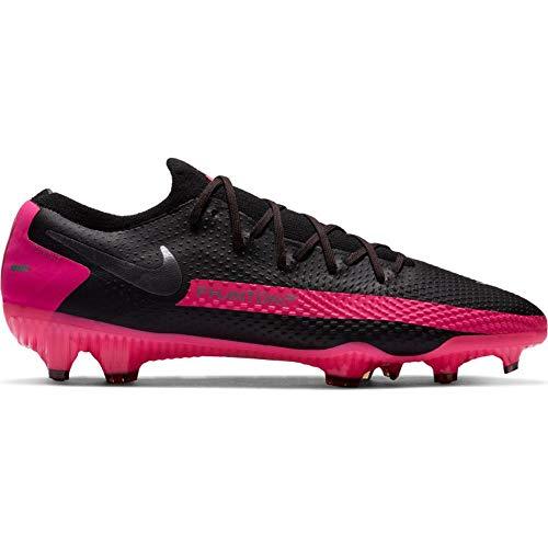 Nike Unisex Fußballschuhe, Schwarz Pink, 40.5 EU