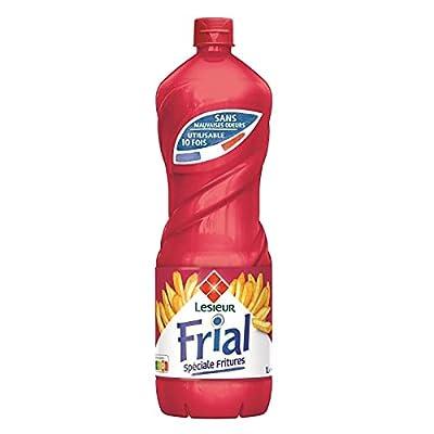 FRIAL - Huile Spécial Friture 1L - Lot De 4
