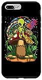 iPhone 7 Plus/8 Plus Funny Magic Mushroom Alien Trippy Shroom LSD Weed Acid Trip Case