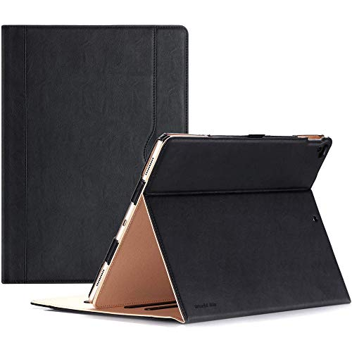 World Biz Case for New Apple iPad -A Perfect iPad PU Leather Case-with Built-in magnet for Sleep & Awake Feature (iPad 9.7 Case 2018 2017 (6th Gen / 5th Gen)