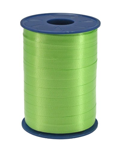 Präsent - AMERICA Ringelband - apfelgrün - 250-m-Spule 10 mm