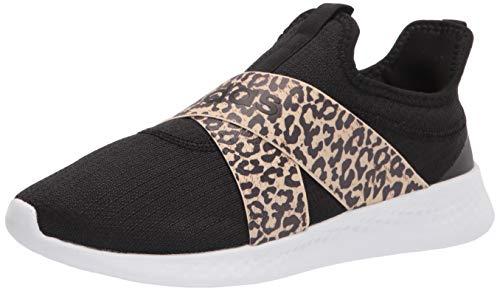 adidas Women's Puremotion Adapt Running Shoe, Black/Hazy Beige/Dark Brown, 5.5