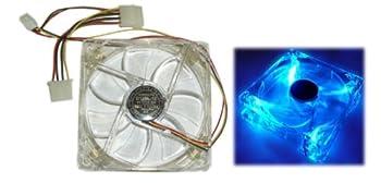 Yate Loon Crystal Blue LED Fan 120mm