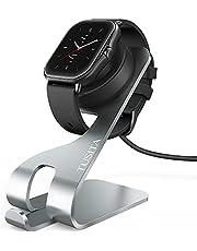 TUSITA Laddare Kompatibel med Amazfit GTR 2, GTR 2e, GTS 2, GTS 2e, GTS2 mini, Pop, Pop pro, Bip U, T-REX Pro (Not for T-REX), Zepp E, Zepp Z Laddningsstation - 150cm USB Kablar Aluminium Laddningskabel - Smartwatch Tillbehör