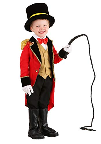 Ringmaster Costume Toddler Deluxe Toddler Circus Costume 4T