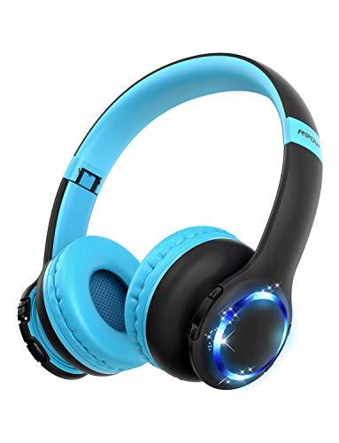 bester der welt Bluetooth-Kopfhörer für Kinder, Mpow CH9-Kopfhörer für Kinder, faltbar, einstellbar, Lautstärke 85dB… 2021