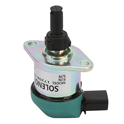 Absperr-Magnetspule, aus Kunststoff und Metall, das elektromagnetische Ventil ist perfekt für Magnetverbindungsstecker
