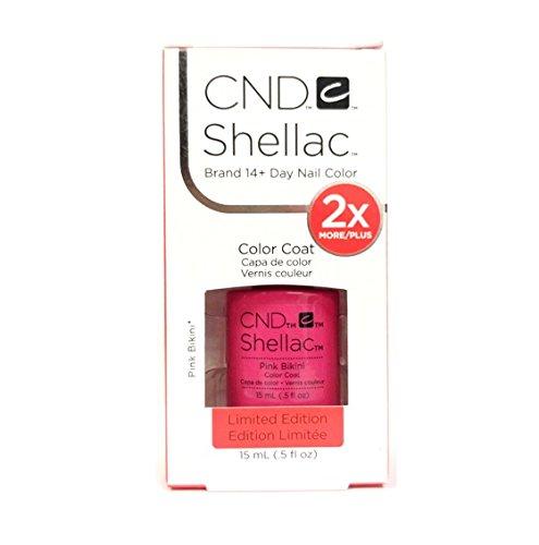 CND Shellac–Limited Edition.–Pink Bikini–15ml/0,5oz