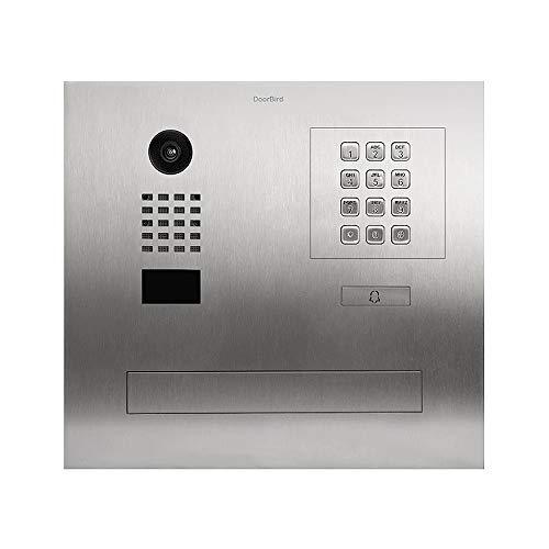 DoorBird D2101FPBK Video-Türsprechanlage, IP/Briefkasten mit RFID-Leser