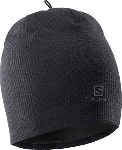 Salomon Unisex Multisport-Mütze, RS WARM BEANIE, Schwarz, Einheitsgröße, L39492500