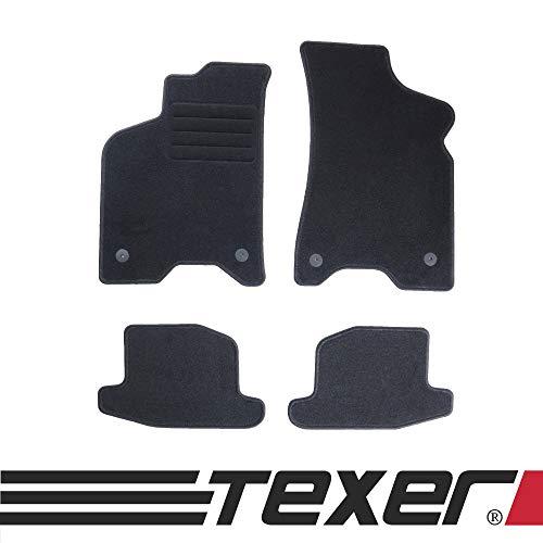 CARMAT TEXER Textil Fußmatten Passend für VW Lupo Bj. 1998-2005 Basic