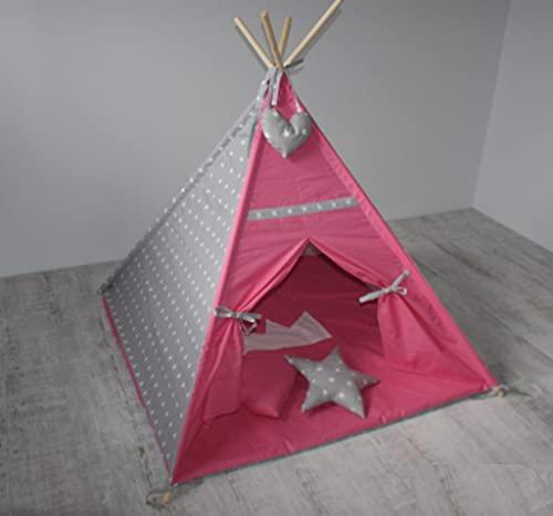 Design Your Own Tipi - Tienda de campaña para dormitorio infantil (125 x 125 cm)