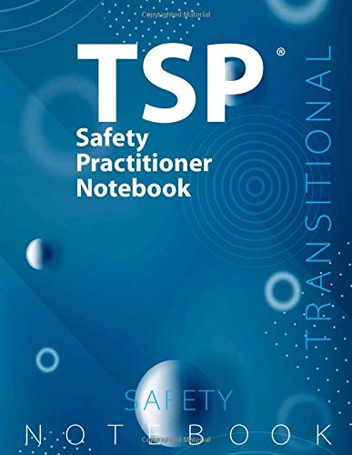 """TSP Notebook, Transitional Safety Practitioner (TSP) Notebook, 108 pages, Dotted ruled/blank double sided sheets, 8.5"""" x 11"""", Glossy blue cover pages"""