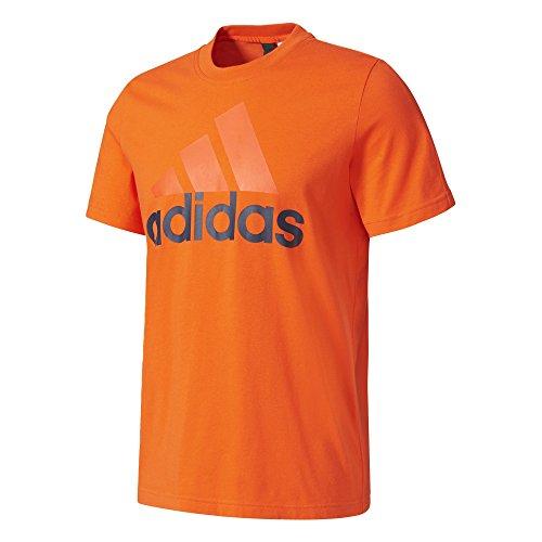 adidas Ess Linear Camiseta, Hombre, Multicolor (Energi), S