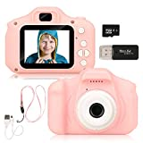 Barwa Camera for Kids, Kids Camera Toy Camera for 3-10 Year Old Girls