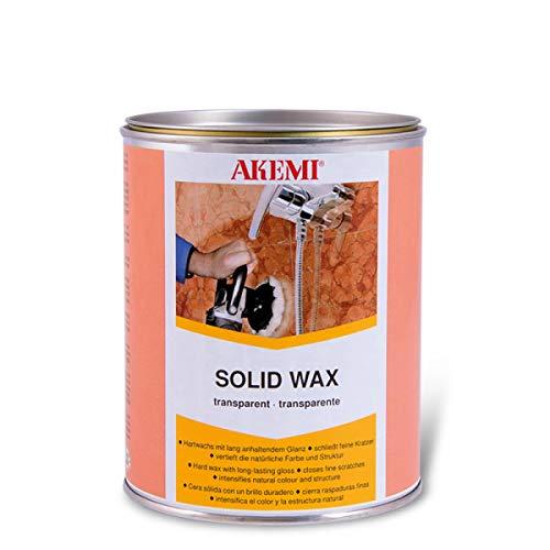 Akemi Solid Wax / 900ml / Hartwachs / transparent / Poliermittel / für Innen- und Außenbereich