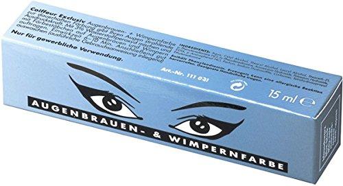 Comair Augenbrauen & Wimpernfarbe blau 15ml