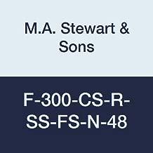 M Stewart Sons F 300 CS R SS FS N 48 Flanged