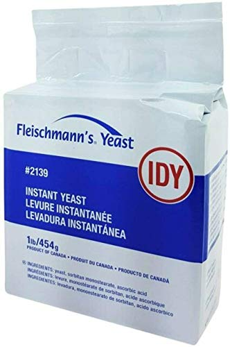 of yeast for baking 1 lbs Fleischmann's Instant Dry Yeast 1lb bag