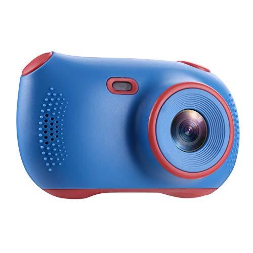 Kamera Kinderkamera Kinder Digitalkamera Doppelkamera kann Foto Selfie Kamera Cartoon Videorecorder Kinder Mini Spiegelreflexkamera 1080P Doppelkamera aufnehmen + Manuelles Ladekabel 32G Speicherkarte