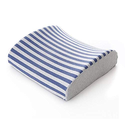 Erfhj autostoel Lombare kussen met strepen van traagschuim accessoire autostoel kussen voor kantoor en slaapkamer