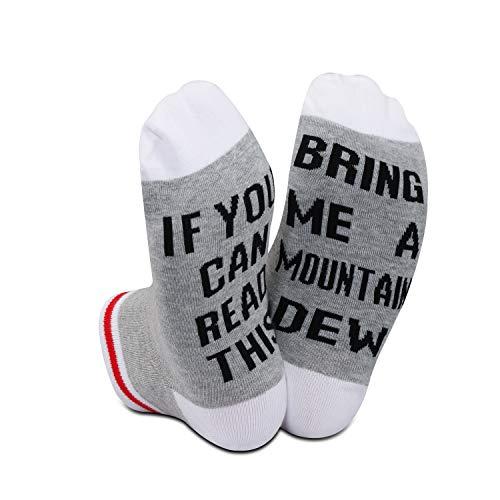 Socken mit Aufschrift