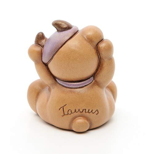 THUN ® - Teddy Taurus Segno Zodiacale Toro - Ceramica - h 7,5 cm - Linea I Classici