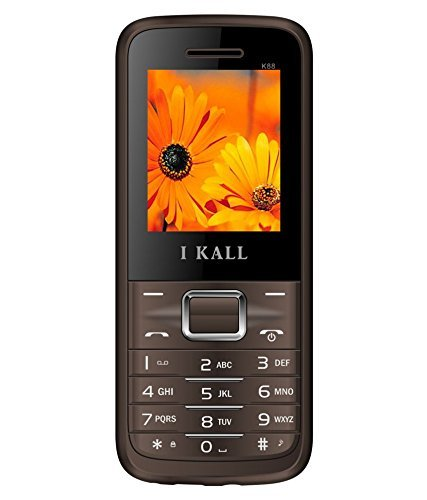 I KALL K88 18 Inch Display Dual Sim Feature Phone Brown