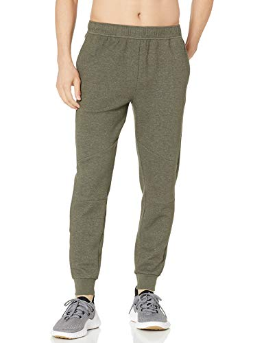 Peak Velocity Men's Mid-Town Lightweight Tech Fleece Jogger Athletic-Pants, Grün, US L (EU L)